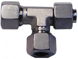 Racor acero inoxidable DIN 2353